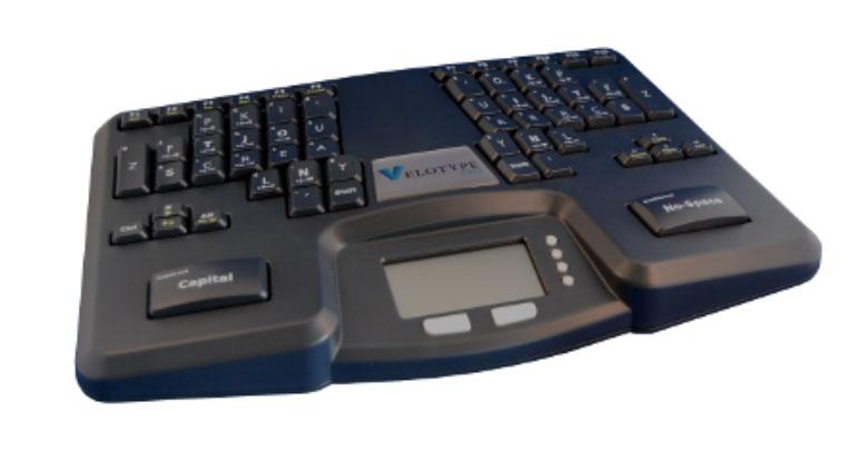 Velotype PRO keyboard
